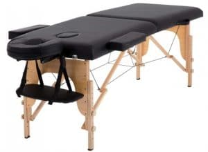 Massage Table Adjustable Height