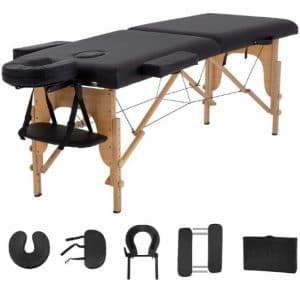 Portable Massage Table and Bed Spa 2 Folding