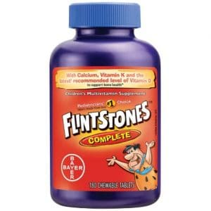 Flintstones Complete Chewables Childrens