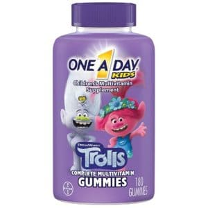 One A Day Kids Trolls Multivitamin Gummy